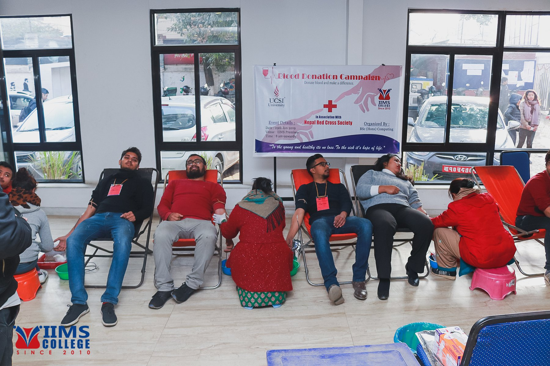 Blood Donation Program – January,2019